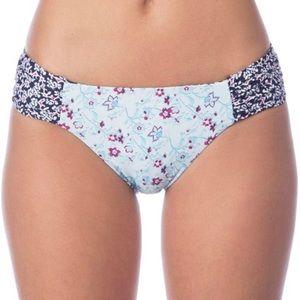 Lucky Brand Tile to Bloom Reversible Bikini Bottom